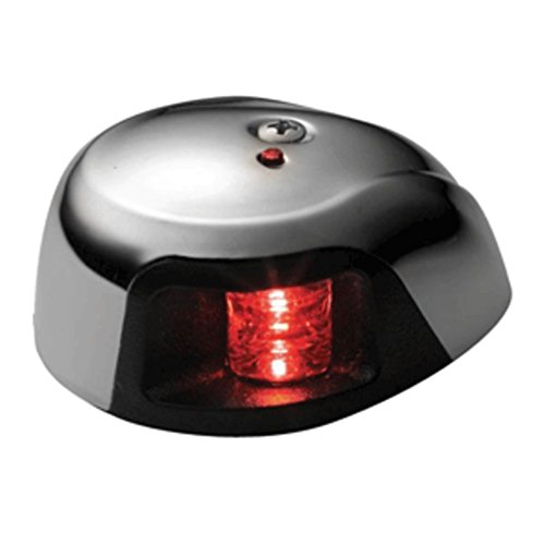 Attwood 3500 Series 2-Mile LED Red Sidelight - 12V - Stainless Steel Housing - 1 Year Direct Manufacturer Warranty by Attwood Marine