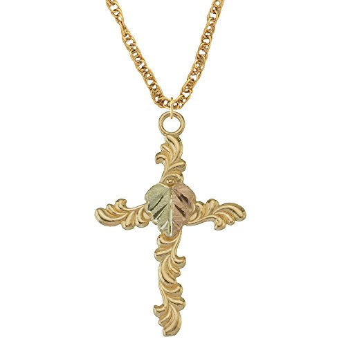 Black Hills Gold Cross Pendant from Coleman ()