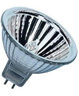 10 x OSRAM BRANDED MR16 50w Halogen Spot Lamp 12v GU5.3 Reflector Light Bulb