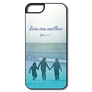 Alice7 Love One Another Case For Iphone 5,Cool Iphone 5 Case by lolosakes