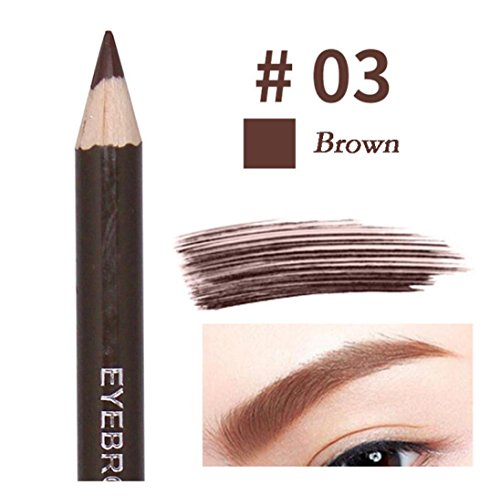 Concealer Cruelty Pencil (Waterproof Eyebrow Pencil for Girls, Iuhan Fashion Waterproof Eyebrow Pencil Cosmetics Eye Beauty Tools Beautiful Eyebrows Pen (Brown))