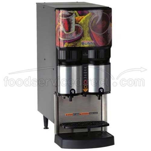 Bunn O Matic LCA-2 PC Scholle Portion Control Ambient Liquid Coffee Dispenser, 30 x 12.2 x 24.9 inch - 1 each.