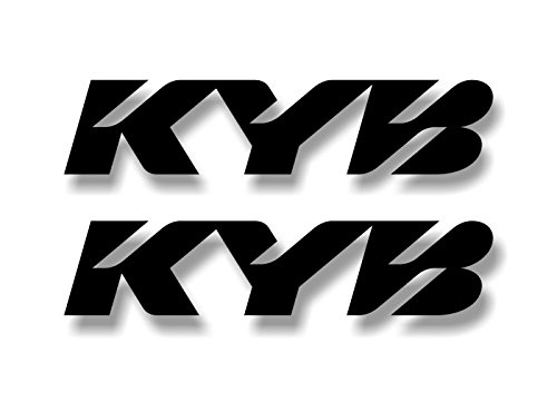 - 2 KYB Shocks Suspension Black 9