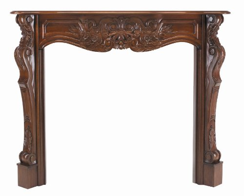 Pearl Mantels 134-48-30 Deauville Fireplace Mantel, 48-Inch, Fruitwood by Pearl Mantels