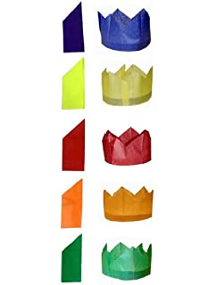 12 natural brown kraft make fill your own crackers recycled be creative tissue paper cracker hats solutioingenieria Images