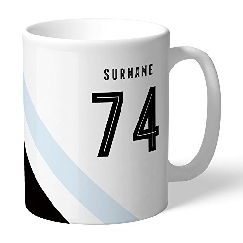 Swansea City AFC Official Personalized Stripe Mug - FREE ()