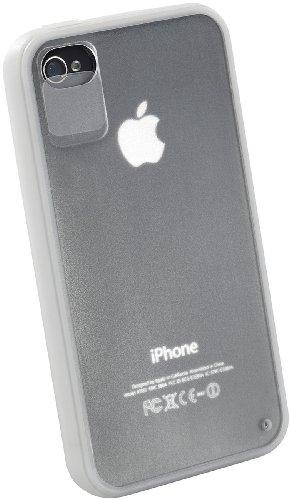 Xcase iPhone-4-Schutzcases: 2in1-Schutzcover mit Objektiv- & Anschluss-Schutz für iPhone 4/4s (iPhone 4 Hülle)