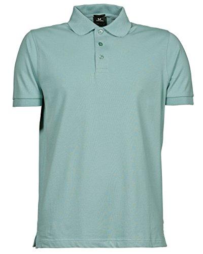 Tee Jays - Polo - para hombre Verde Dusty Green extra-large