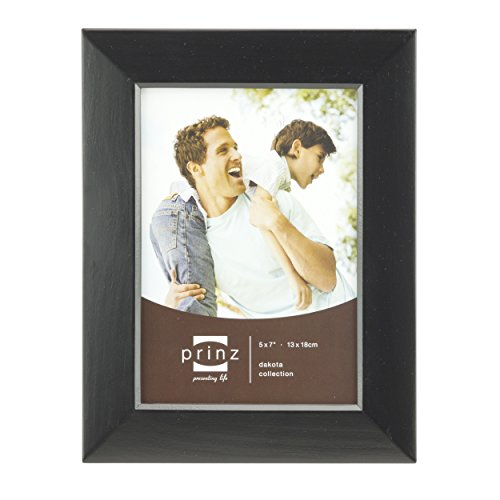 PRINZ Dakota Black Wood Table Top Frame, 5x7,