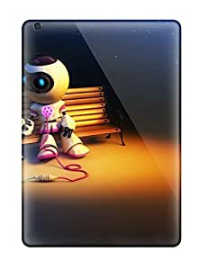 Air Scratch-proof Protection Case Cover For Ipad/ Hot Robot Love Phone Case