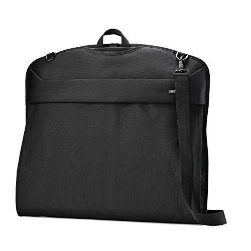 (Samsonite Flexis Garment Sleeve, Jet Black)