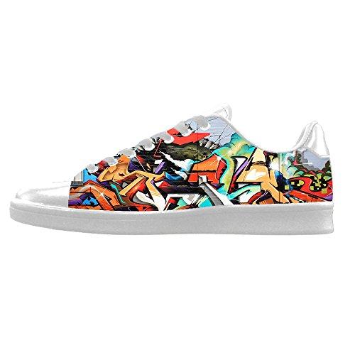 Custom Graffiti Mens Canvas shoes I lacci delle scarpe in Alto sopra le scarpe da ginnastica di scarpe scarpe di Tela. Descuento Llegar A Comprar ceRf8c6