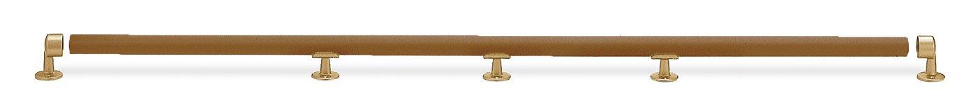 シロクマ まがりん棒[2箇所曲り] ミディアムオーク/AG BR-301 (手すり) B009VDO60M ミディアムオーク/AG ミディアムオーク/AG