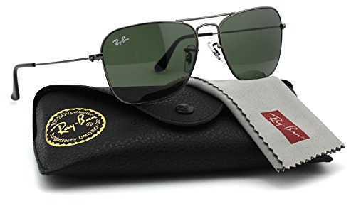 Ray-Ban RB3136 004 Caravan Gunmetal / Green G-15 Lens - Ray Bans Code Discount For