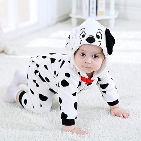 SOHOH Pijama Unicornio Dálmata Onesie bebé de la Historieta ...
