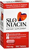 Slo-Niacin 750 mg Tablets 100 Tablets (Pack of 3)