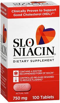 Slo-Niacin 750 mg Tablets 100 Tablets (Pack of 3) by Slo-Niacin