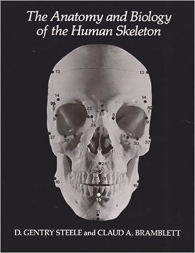 Amazon.com: The Anatomy and Biology of the Human Skeleton ...