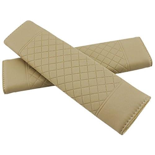 Daorier Protège-ceinture Plastique Velours Voiture de Sécurité Ceinture de Sécurité Épaulière Epaule Coussin Sièges Auto Protège-ceinture,1PC