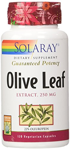 olive leaf extract solaray - 1