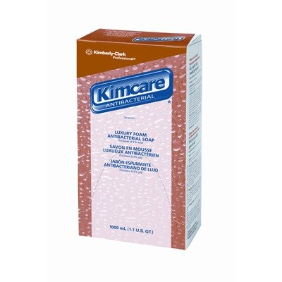 Kimcare Luxury Foam Antibacterial Soap Fragrance-Free 1000 ml in Light - Kimcare Professional Antibacterial