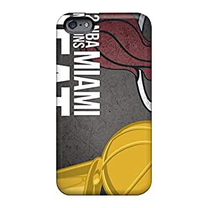 Apple Iphone 6 Rqp17126bzvX Provide Private Custom Nice Miami Heat Series Excellent Cell-phone Hard Covers -WandaDicks