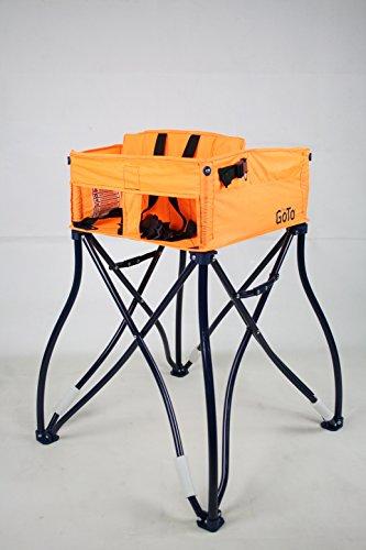 Phoenix Baby The GoTo 2-in-1 Infant Carseat Holder & Travel High Chair, Orange, One Size (Furniture Restaurant Phoenix)