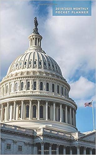 2019-2020 Monthly Pocket Planner: 24 Month Agenda | Capitol ...