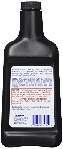 ACDelco Power Steering Fluid - 16 oz - Import It All