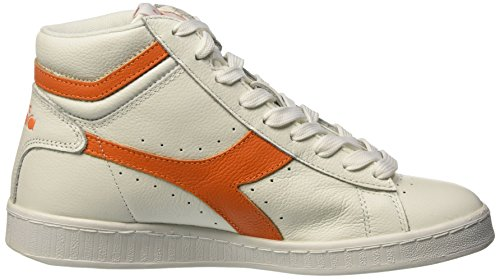 High Diadora Collo L c5937 Waxed Multicolore Unisex – Alto arancio Adulto Bianco Game A Sneaker Tropicale Epnpgqwx