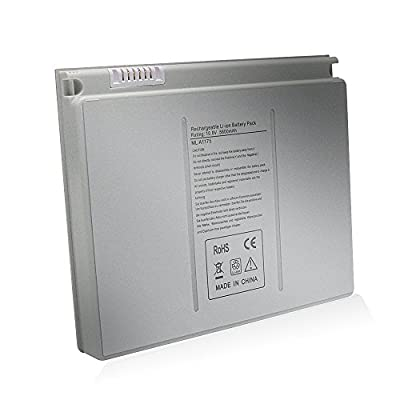 A1175 A1211 A1260 A1150 A1226 New Laptop Battery for Apple Macbook Pro 15 inch (only for 2006 2007 2008 Version ) for MA348 MA609 MA610 MB133 MB134 Laptop Notebook -- [Li-ion 5800mAh/68Wh 6Cell] by Tskybear Inc