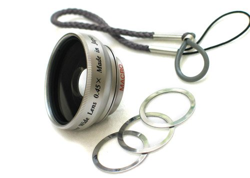 Rokinon 0.45x Wide Angle Lens for Flip Camera