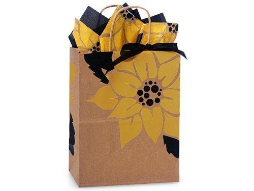 Nashville Wraps Shopping Gift Bag 25 Count -Sunflower - Cub by Nashville - Shopping Nashville