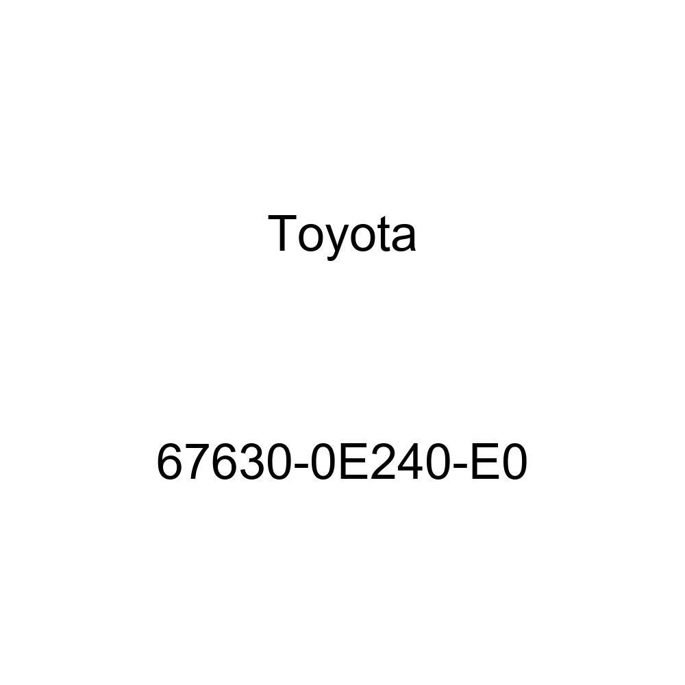 Genuine Toyota 67630-0E240-E0 Door Trim Board