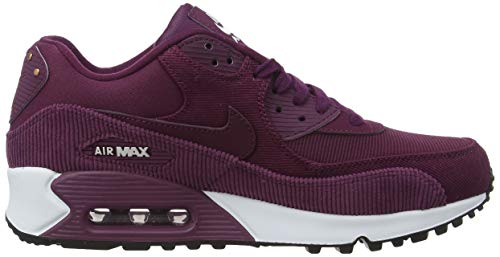 Max bordeaux black Nike 90 Wmns Femme Fitness Chaussures white De bordeaux Lea Air 601 Multicolore a77EvqS