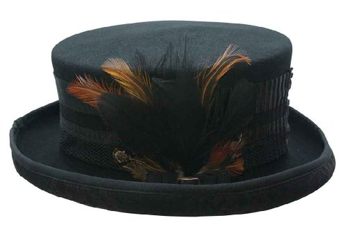 London Lace Steampunk Victorian Top Hat
