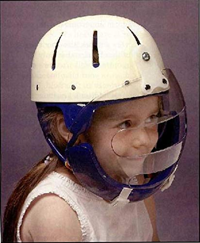 (Hard Shell Helmet with Face Guard (x-small (19.25