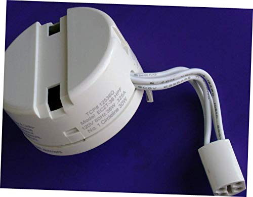 Lamp Bulb TCP 12536Q HPF Replaceable Electronic Ballast for 36W Circline CFL EC2T-36 - Compact Hpf
