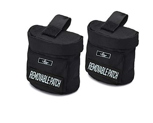 Doggie Stylz Dog Harness Utitlity Side Bags Servcie Dog Harnesses -Medium/Large/XLarge/XXLarge - 1.4 Saddle