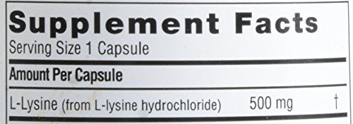 Twinlab L Lysine 500 mg, 100 ct
