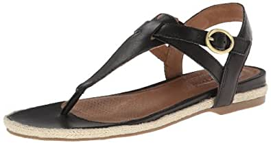 Corso Como Women's Safia Gladiator Sandal,Black Vintage Calf,6 M US