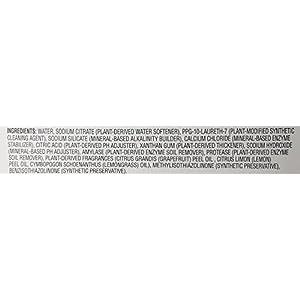 Amazon Brand - Presto! 65% Biobased Dishwasher Detergent Gel, Lemon Orchard Scent, 42-ounce bottles (pack of 3)