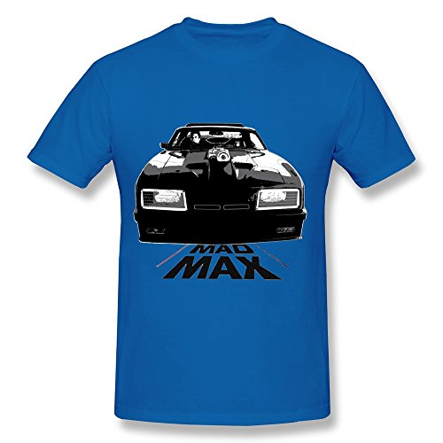 FK Mad Max Car T Shirt For Men RoyalBlue (Mad Max Nux)