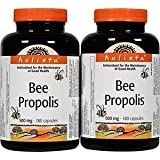 Value Pack- Holista Bee Propolis 500 mg 200 capsules (pack of 2) For Sale