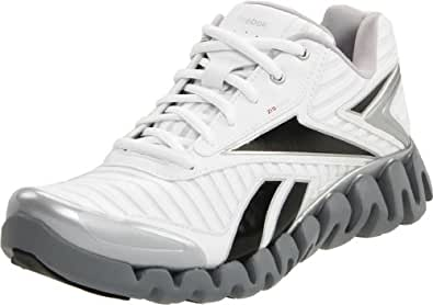 Reebok Men's Zigactivate-Core Running Shoe,White/Black/Silver/Red,8 M US
