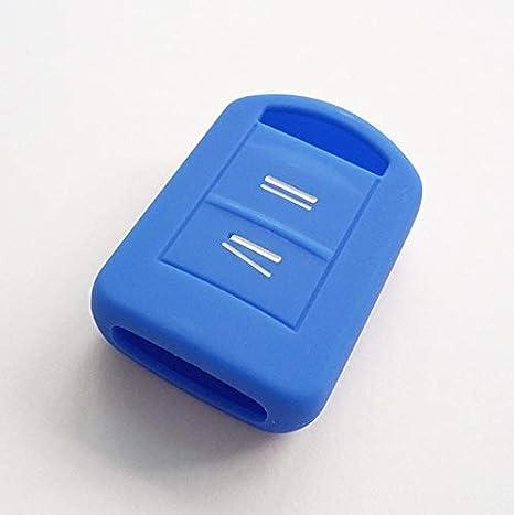 Amazon.com: Llavero de 2 botones de silicona para Vauxhall ...