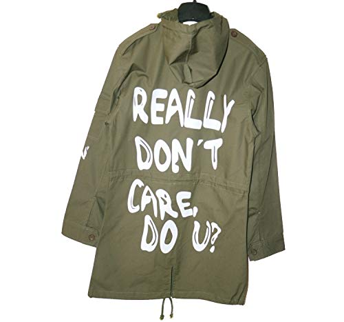 NEXT ATLANTIC Melania Trump Jacket I Really Don't Care do u Jacket Flotus Melania Jacket Coat