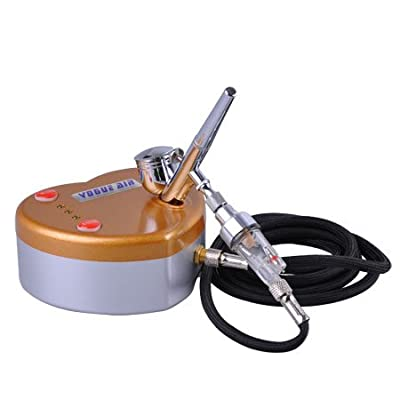 New Makeup Cake Tattoo Nail Art Airbrush Kit Compressor Paint Spray Gun Hobby