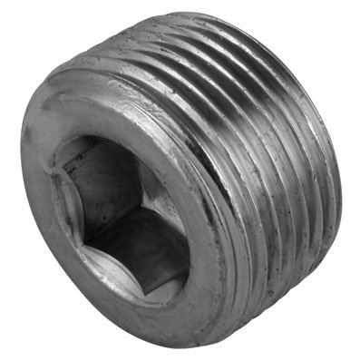 BURNETT and HILLMAN - 1/2' NPTF HEX SOCKET STEEL PLUG - NPTF Socket Headed Plug (Hydraulic Adaptors) - PACK SIZE: 1x5