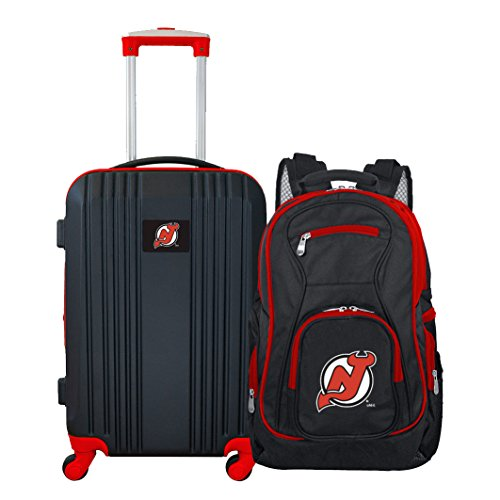 NHL New Jersey Devils 2-Piece Luggage Set - One New Jersey Devils Backpack